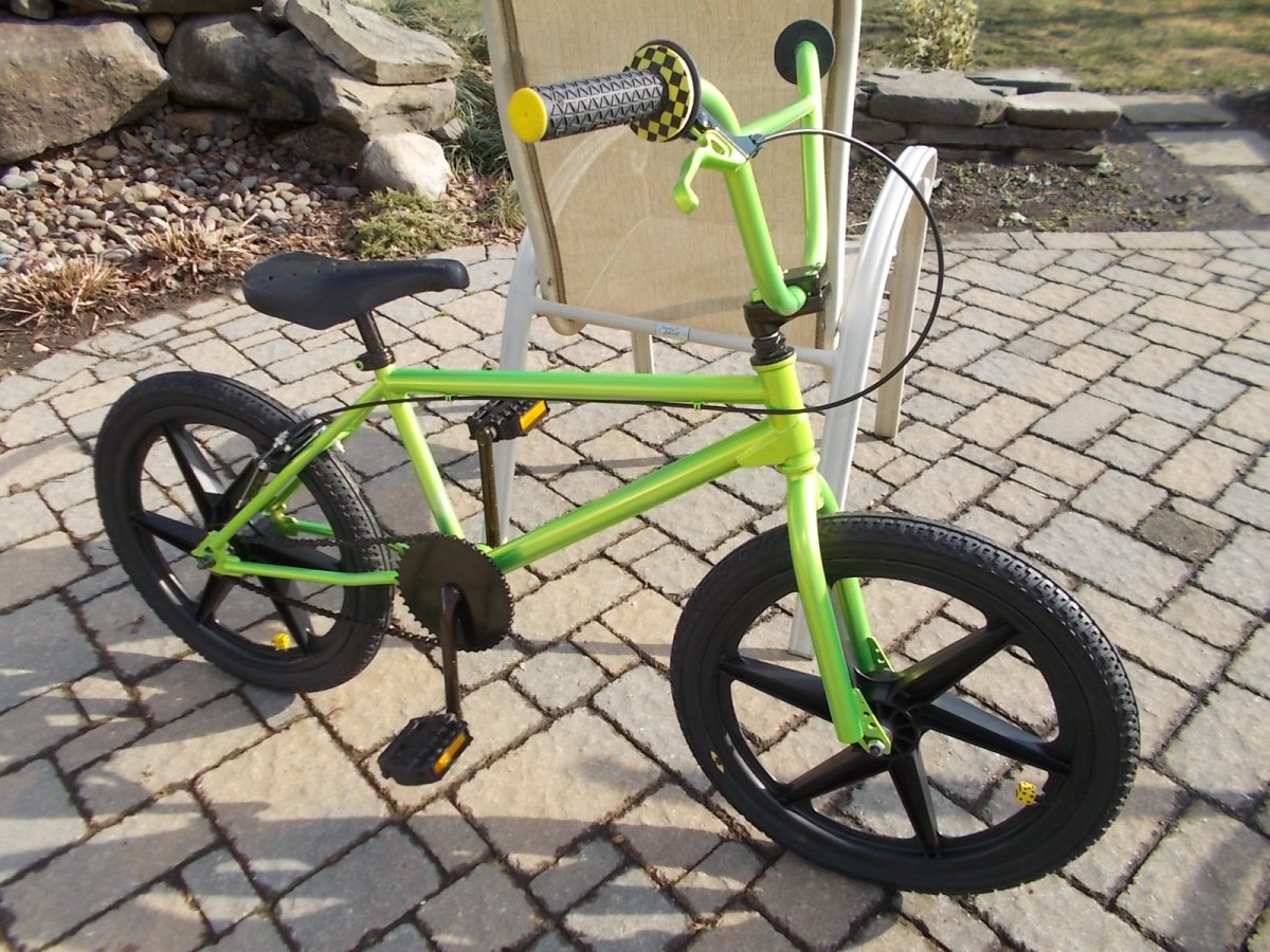 1990 Haro Psycho Bmx Bicycle Restoration Completed Bmx